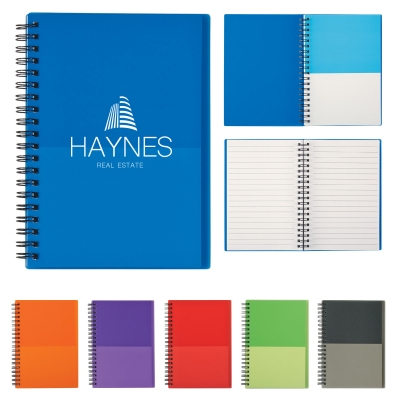 #6447-5x7-Two-Tone-Spiral-Notebook