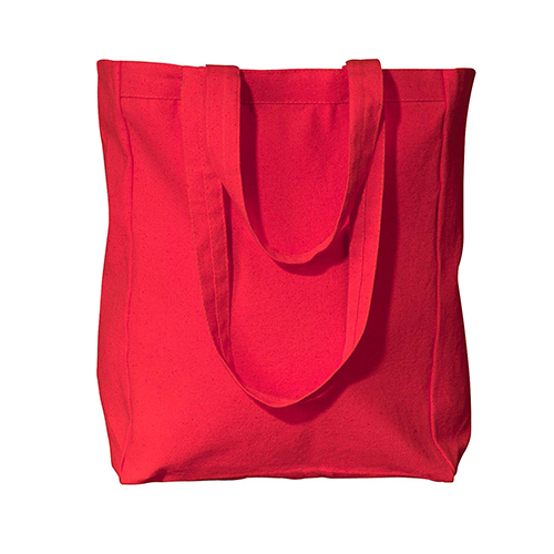 8861- UltraClub by Liberty Bags Susan Canvas Tote