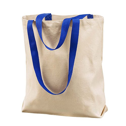 8868- UltraClub by Liberty Bags Marianne Cotton Canvas Tote