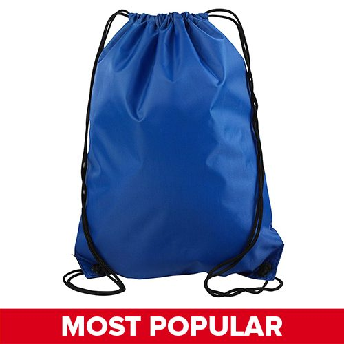 8886 UltraClub by Liberty Bags Value Drawstring Backpack -Featured