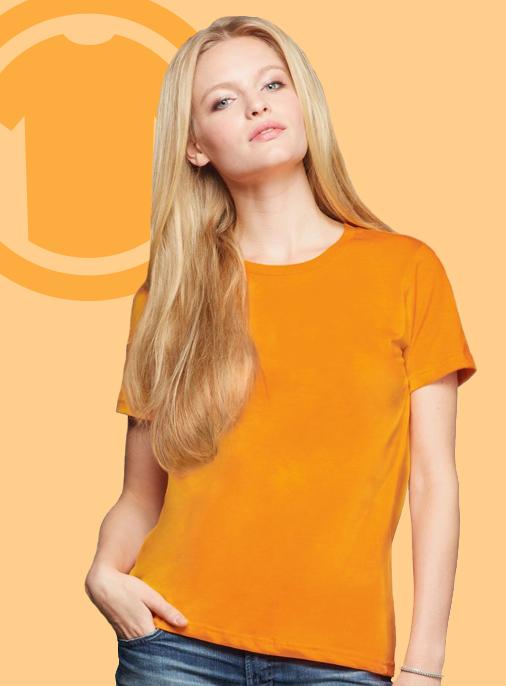 Womens Anvil-880 Tee tshirt t-shirt