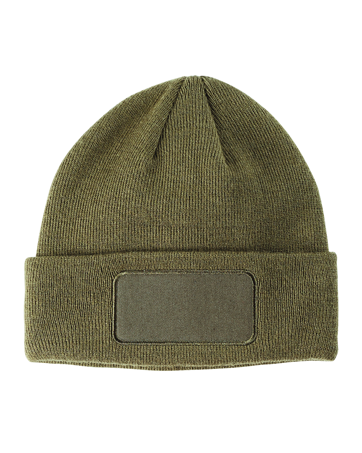BA527- Big Accessories Patch Beanie