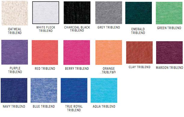 Canvas Unisex Triblend Tee C3413 – Bandwear