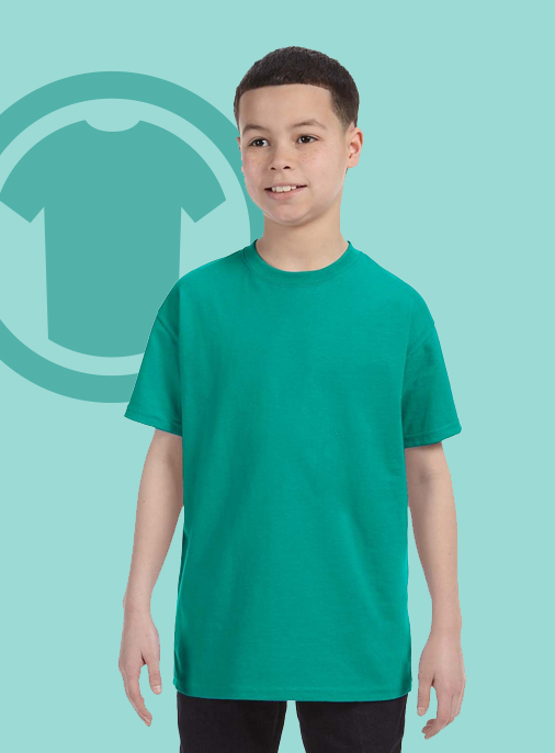 Gildan-G500B kids youth Tee tshirt t-shirt