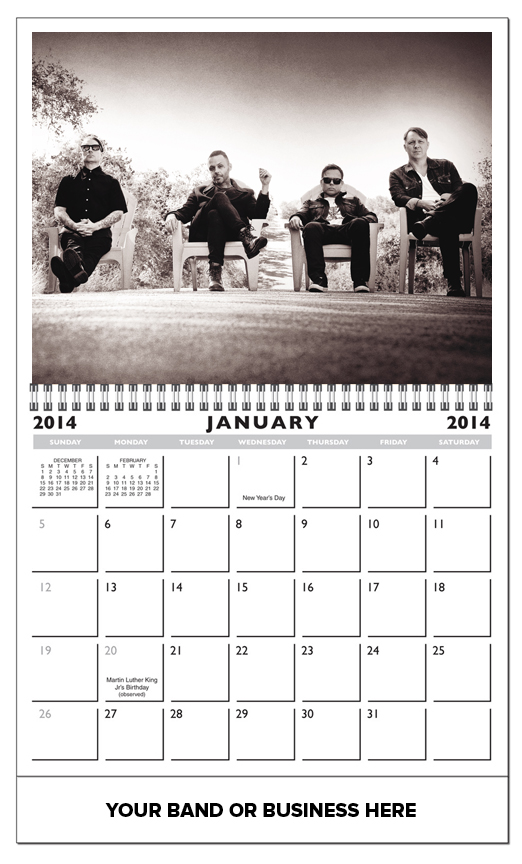 Deluxe 13 Photo Custom Picture Calendar