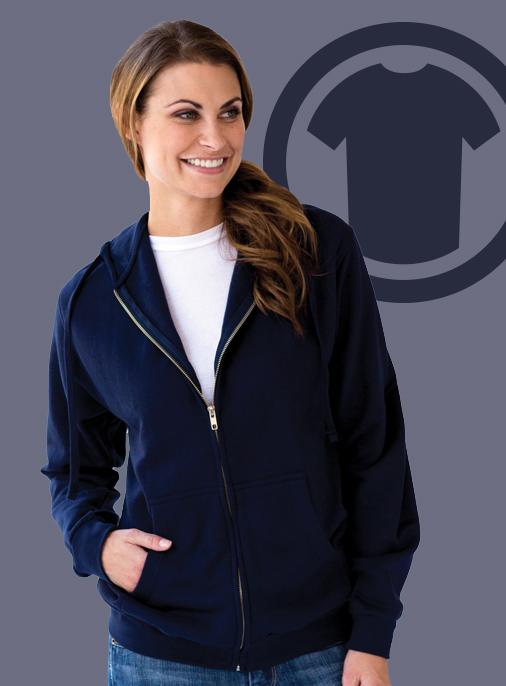 """alt=""""tultex zip up hoodie sweatshirt"""""""